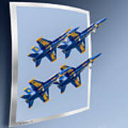 Blue Angels - Oof Poster
