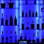 Blue Bar Poster