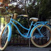 Blue Bike Poster