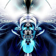 Blue Blazes Poster