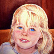 Blue Blue Eyes Poster