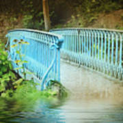 Blue Bridge Poster
