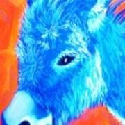 Blue Burrito Poster