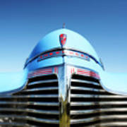 Blue Chevrolet Master Deluxe Poster