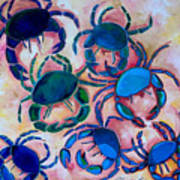 Blue Crabs Poster