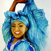 Blue Dancer  Poster