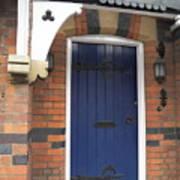 Blue Door At 49 High Poster