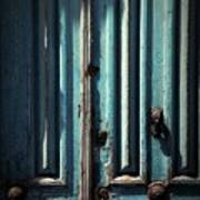 Blue Door. Essaouira. Morocco Poster