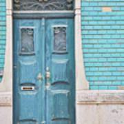 Blue Door, Portugal Poster
