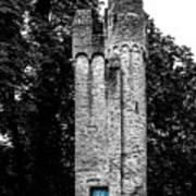 Blue Door Tower Poster