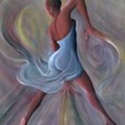 Blue Dress Poster by Ikahl Beckford