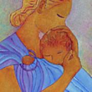 Blue Embrace Poster