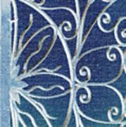 Blue Gate Mosaic Poster