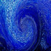 Blue Ice Twirl-2 Poster