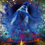 Blue Jogini Poster