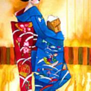 Blue Kimono 2 Poster