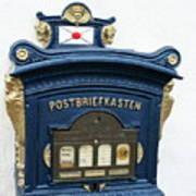 Blue Mailbox Poster