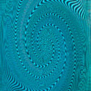 Blue Metal Spca Poster