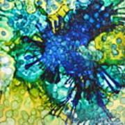 Blue Moth Poster