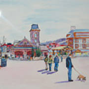 Blue Mountain Collingwood Ontario Poster