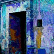 Blue Passage By Michael Fitzpatrick Poster