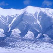 Blue Peaks Poster