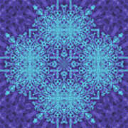 Blue Resonance Poster