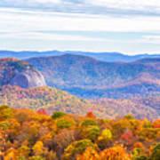 Blue Ridge Mountains 1 Poster