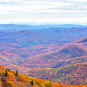 Blue Ridge Mountains 3 Poster