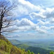 Blue Ridge Parkway Views - Rock Castle Gorge Poster