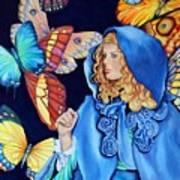 Blue Riding Hood Poster