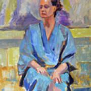 Blue Robe Poster