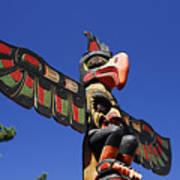 Blue Sky Totem Poster