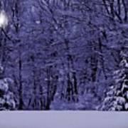 Blue Snow Poster