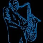 Blue Trane Poster
