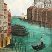 Blue Venice Poster