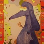 Blue Weiner Poster