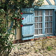 Blue Window Poster