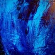 Blue Yoga Poster