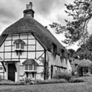 Bluebell Cottage Micheldever Poster