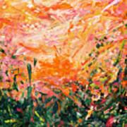 Bluegrass Sunrise - Desert A-left Poster