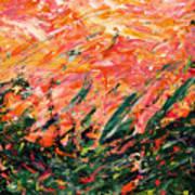 Bluegrass Sunrise - Desert B-right Poster