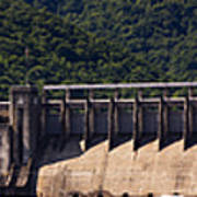 Bluestone West Virginia Dam Panorama Poster