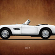 Bmw 507 1957 Poster