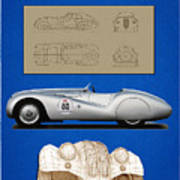 Bmw Mille Miglia Poster Poster