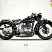 The R16 Motorcycle Poster