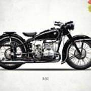 The R51 Motorcycle Poster