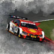 B M W Racing Poster