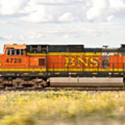 Bnsf Railway Engine Poster