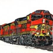 Bnsf Poster